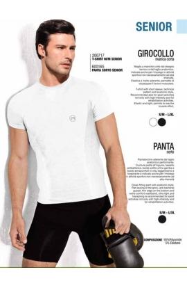 Maglia sportiva traspirante per uomo mezza manica ACTIVE-FIT 200717