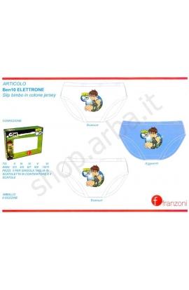 3 Slip Ben 10 cotone 100% confezione 3 pezzi