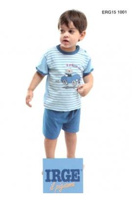 Pigiamino baby cotone leggero corto dai 12 ai 30 mesi Irge 151001