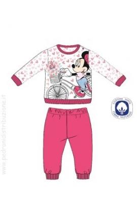 Pigiama estivo baby Walt Disney Minnie cotone 100% WD101126