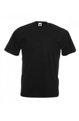 3 T-shirt uomo Fruit fo the Loom original PREMIUM NERO