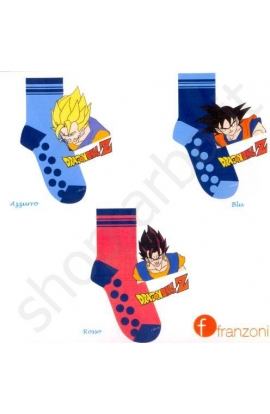Calza ABS Antiscivolo bimbo Dragon Ball Guerriero