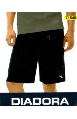 Pantalone a bermuda corto per uomo maglina di cotone Diadora 71548