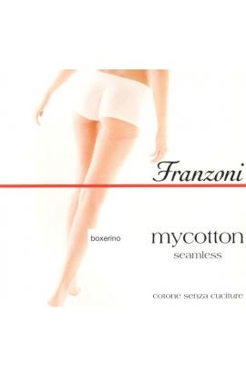 Boxerino per danza ragazza cotone invisibile senza cuciture My cotton misura S/M