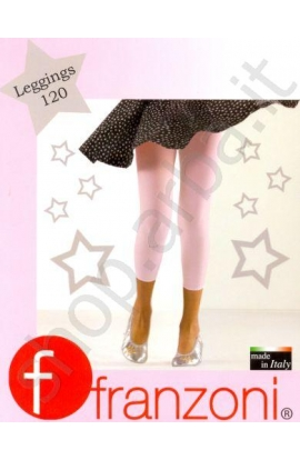 Leggings coprenti bimba 120 den colore grigio perla