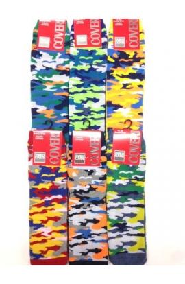 Calza bimbo antiscivolo ABS camouflage Coveri Feet 137