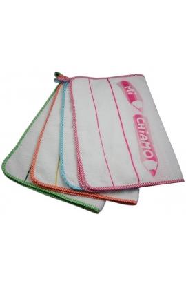 Asciugamano asilo salvietta MATITE cm. 40×60 in spugna con bordo da ricamare
