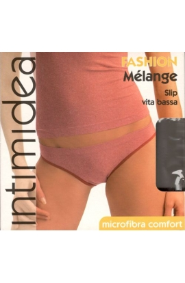 Slip giovanissimo microfibra melange con elastico morbido Intimidea 310733