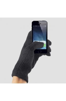 Guanti touch screen elasticizzati donna tinta unita 335TS