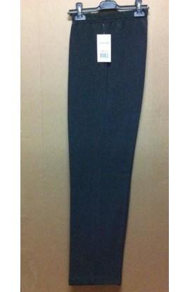 Pantalone felpato invernale per donna in morbida costina 889-1 Aertre Made in Italy