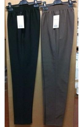 Pantalone a sigaretta donna elasticizzato invernale 523-10 Made in Italy