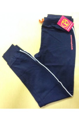 Pantalone tuta leggero estivo per donna vestibilita' classica con bordo Nazareno Gabrielli SD124