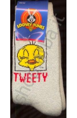 Calza spugna ragazzo/a Tweety Titti cotone