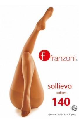 Collant 140 riposante a compressione graduata Franzoni Sollievo 140 den calibrato