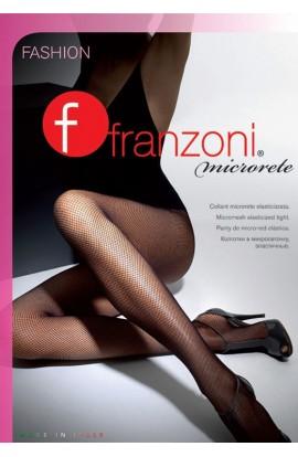 Collant a rete elasticizzata per donna Microrete Franzoni