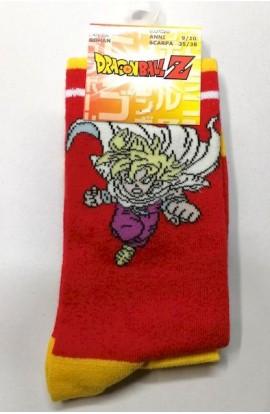 Calza lunga Dragon Ball Super Gohan gamba lunga cotone
