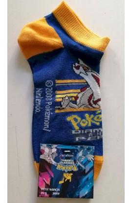 Calzino corto caviglia fantasmino bambino cotone Pokemon Diamante