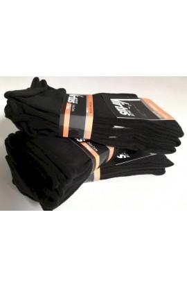3 paia di calze sanitarie per uomo senza elastico senza segni caldo cotone invernale gamba corta V8700