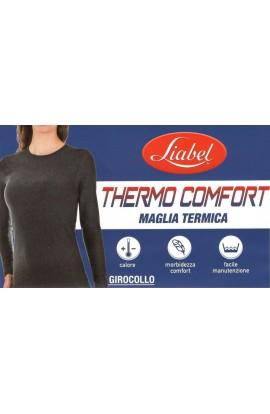 Maglia termica girocollo manica lunga donna Liabel 2852