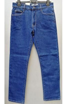 Pantalone uomo invernale jeans elasticizzato foderato in pile HD 916