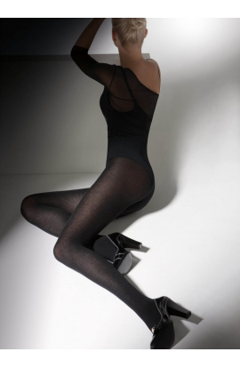 Calzamaglia donna Brazil morbido e caldo opaco supercoprente con tassello.