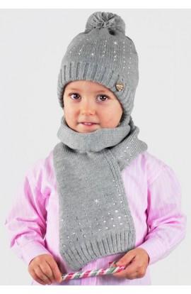 Cappello Bambina Con File Di Strass Colombo C996