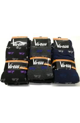 Calza lunga per uomo in caldo cotone invernale Vespa V32