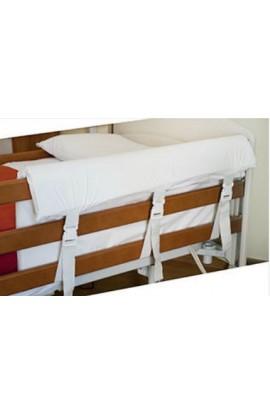 Paracolpi laterale letto con sponde sfoderabile sagomato 9047
