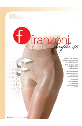 Collant contenitivo modellante Profile Franzoni, il collant che toglie la pancia, total shaper