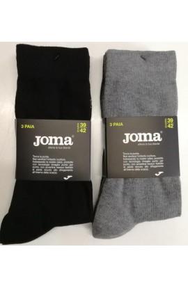 Calza sportiva leggera senza spugna elasticizzata senza cuciture Joma JU14