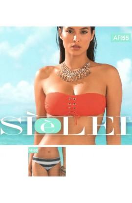 Bikini a fascia preformata e slip fisso SièLei AR55