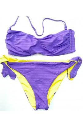 Bikini a fascia double face slip allacciabile SièLei AN55