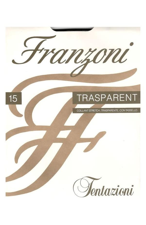 Collant Trasparent velatissimo 15 den stretch con tassello Franzoni