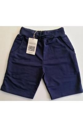 Pantaloncino corto bermuda uomo cotone garzato con tasche Criminal Boy's M-03B