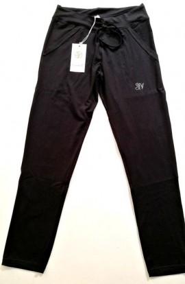 Pantalone tuta giovane cotone elasticizzato leggero Simona V 10126