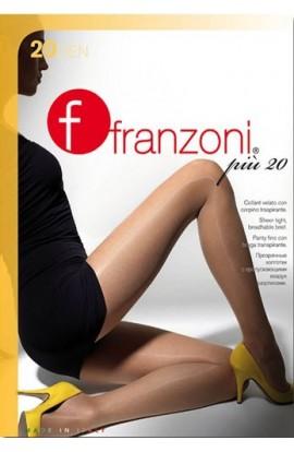 Collant donna Più 20 elasticizzato velato con corpino traspirante Franzoni