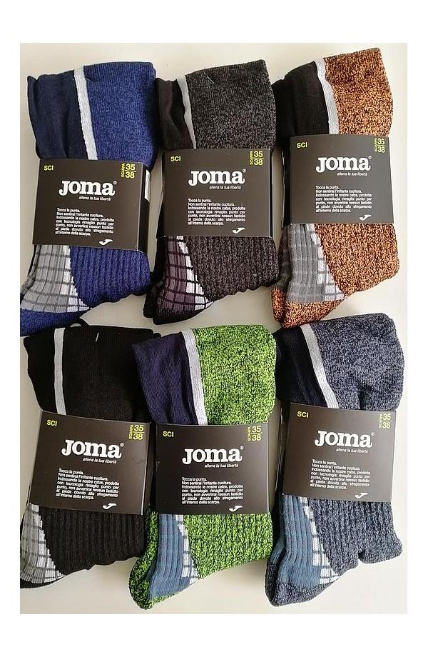 Calze tecnica per sci e snowboard caldo cotone senza cuciture Joma JU49