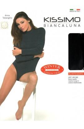 Body lupetto caldo cotone elasticizzato invernale Kissimo KB390