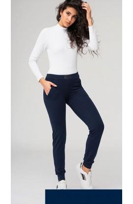 Pantalone donna felpato con tasche e bordo caviglia OXIGYM 274/861