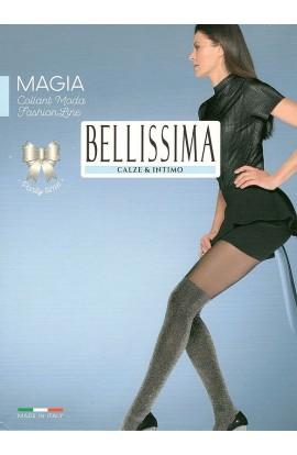 Collant parigina coprente brillante in lurex Bellissima Magia