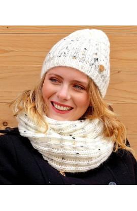 Cappello con lurex morbidissimo e caldo per donna Colombo C414