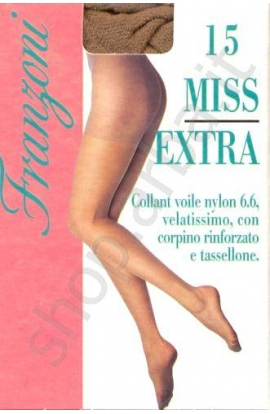 Collant Extra Large Maxi calibrato velatissimo nylon stretch 15 den