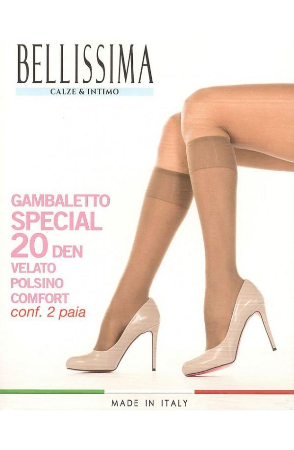 Gambaletti Special 20 den velato elasticizzato elastico comfort morbidissimo Bellissima