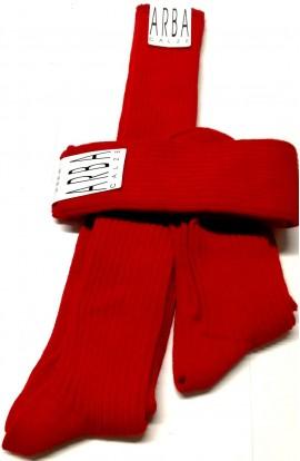 Calza Rossa Buon Natale in lana pesante invernale per uomo costa larga Arba 2200