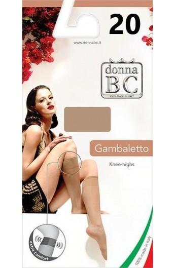 Gambaletto elastico extra comfort 20 den elasticizzato BC Florence 20