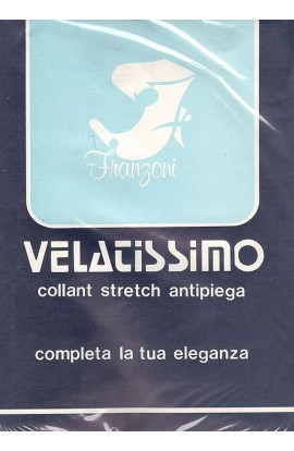 Collant Velatissimo 15 den stretch Nylon 66 antipiega Franzoni