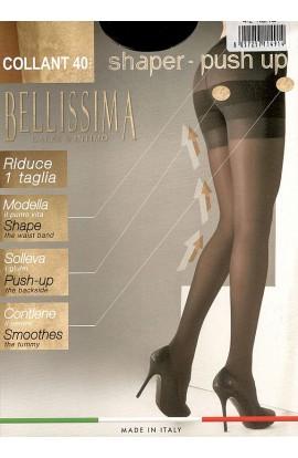 Collant solleva glutei modellante contenitivo riposante 40 Shaper Push Up Bellissima