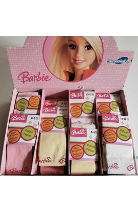 Collant Barbie caldo cotone invernali bambina anallergiche