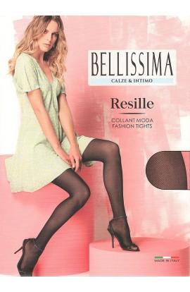 Collant a retina piccolissima microrete leggera ed elegante moda estate Bellissima Resille