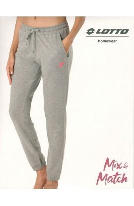 Pantalone tuta 100% cotone primavera estate con bordo elasticizzato Lotto 1017